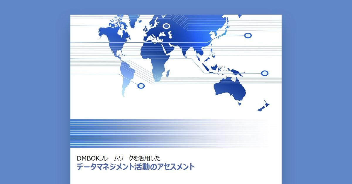 DMBOKフレームワークを活用したデータマネジメント活動のアセスメント